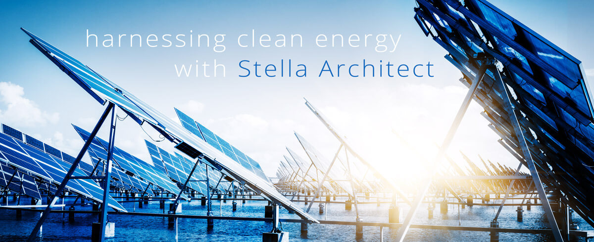 Harnessing Clean Energy with Stella Architect