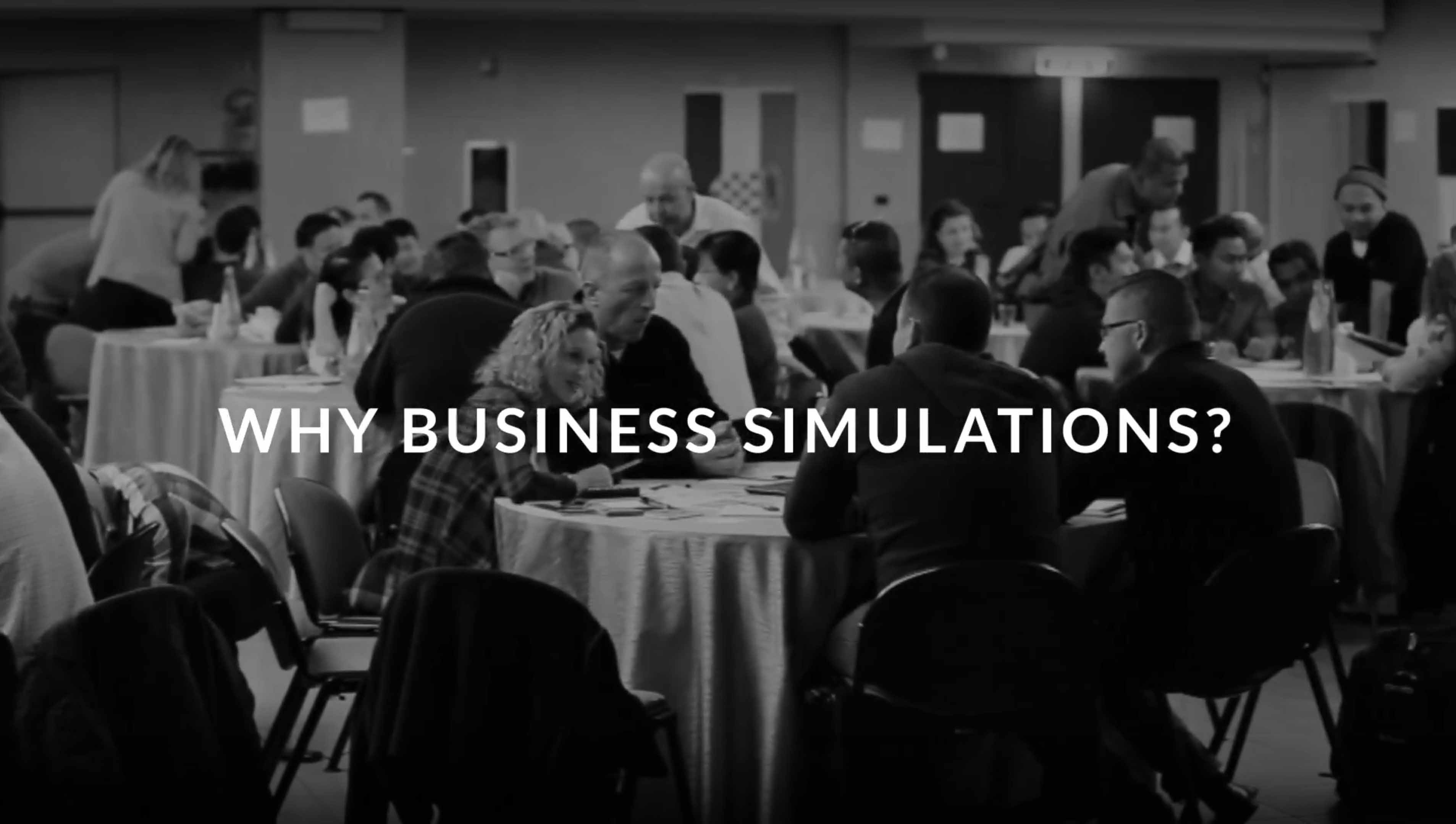 Why business simulations?